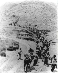 Soldados de un Batallón durante un supuesto táctico