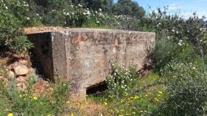 Fortificación republicana de la Sierra de la Ortiga (Don Benito, Badajoz).